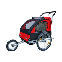 3 in 1 Kids Bike Trailer, Pram and Jogger for 2