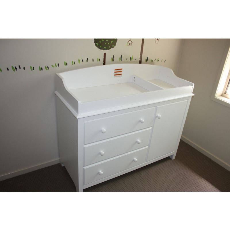 white baby change table chest of drawers cabinet buy changing tables