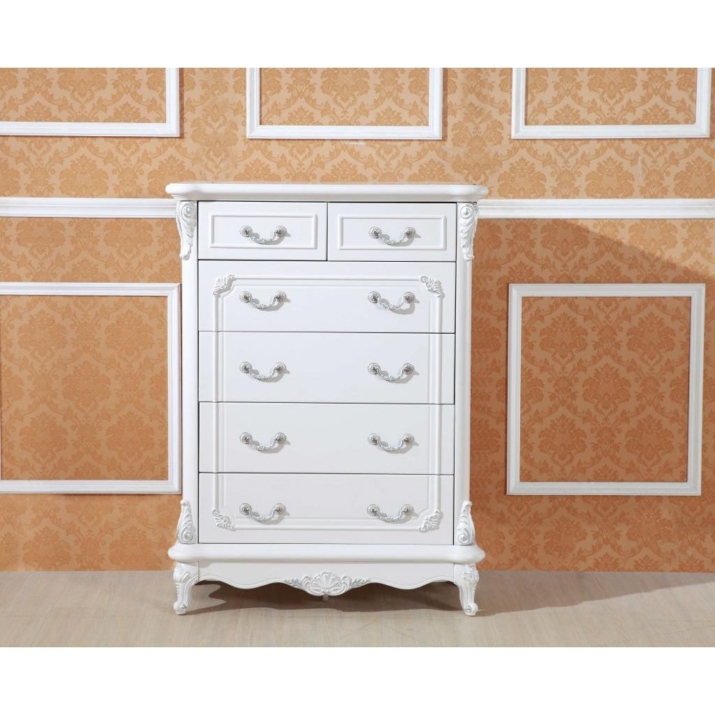 #8E5C3D White Antique Tallboy Dresser Chest Of 6 Drawers Buy  with 1024x1024 px of Highly Rated Vintage Tallboy Chest Of Drawers 10241024 picture/photo @ avoidforclosure.info