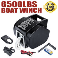 Portable Power Manual or Electric Boat Winch 3000kg