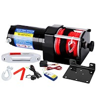 Wireless Synthetic Rope Electric Winch 12v 4500lbs