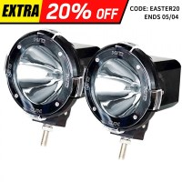2x Xenon HID Offroad Spot Driving Lights 4in 100W