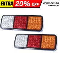 2x LED Stop Reverse & Indicator Tail Lights 12V