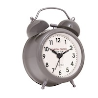 London Clock Company Small Belle Grey Alarm Clock