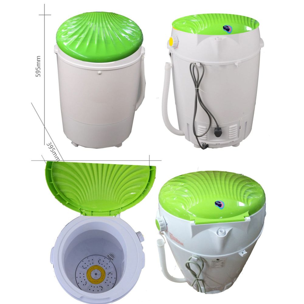 Portable Camping Washing Machine Dryer 3 5kg Green Buy