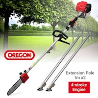 4-Stroke Extendable Pole Chainsaw w/ Oregon Chain