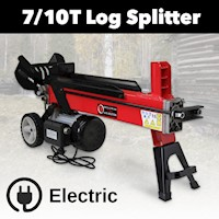 7 Tonne Electric Hydraulic Wood Log Splitter 2350W