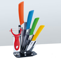 5 Piece Zirconia Ceramic Kitchen Knife Set