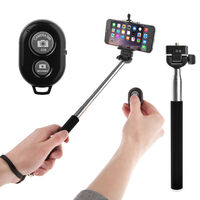 Bluetooth Selfie Stick With Bluetooth Remote