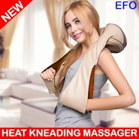 Deep Kneading Heat Pillow Neck Body Back Massager