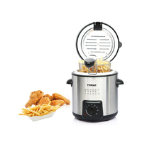Todo Stainless Steel Mini Deep Fryer 840W 900ml