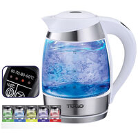 Todo Electric Glass Kettle with LED Indicator 1.8L