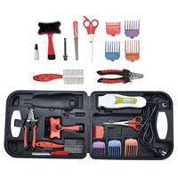 Pet Grooming Kit w/ Electric Clipper & Accessories