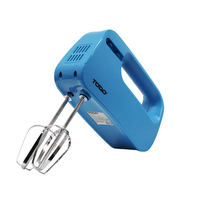 Electric Beater Hand Mixer with 3 Speeds in Blue