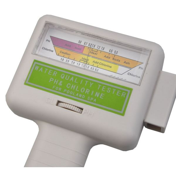 Swimming Pool Water Ph And Chlorine Level Tester Buy Pool Maintenance