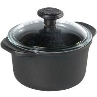 Skeppshult Cast Iron 1.5L Casserole with Glass Lid