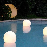 LED Floating Swimming Pool Sphere Light 50cm