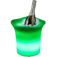 LED Illuminated Ice Bucket Bottle Chiller Small
