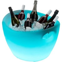 Illuminated Ice Bucket Bottle Chiller Party Size