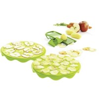 Mastrad Top Chips 2 Trays & Mandoline Special Lime