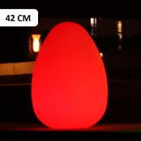 Innovia Outdoor LED Illuminated Egg Lamp 42cm