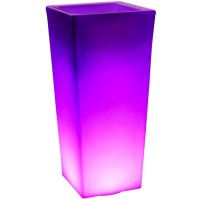Innovia LED Illuminated Flower Pot Planter 74cm