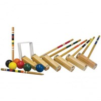 Franklin 6 Player Croquet Set Advanced + Carry Bag