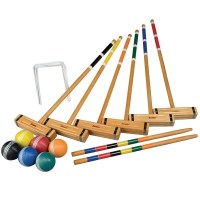 Franklin 6 Player Croquet Set Classic + Carry Bag