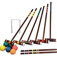 Franklin 6 Player Croquet Set Intermediate + Bag