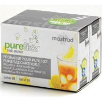 Mastrad Purefizz Soda Maker CO2 Cartridges 20 Pack