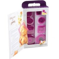 Mastrad Ravioli Pastry Pie Maker Gift Set in Purple
