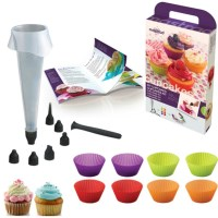 Mastrad Cupcake Making Kit in Non Stick Silicone