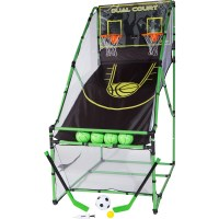 3-in-1 Kids Arcade Centre & Rebound Basketball Game