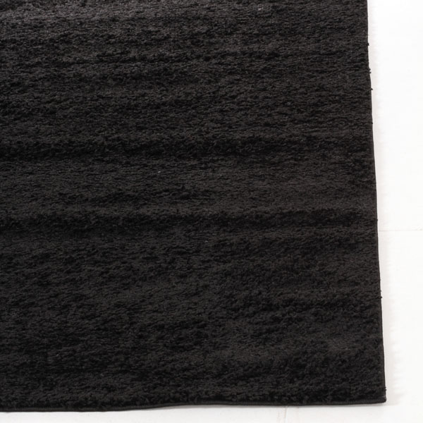 Black Funky Plain Shag Rug 170x120cm Buy Shaggy Rugs