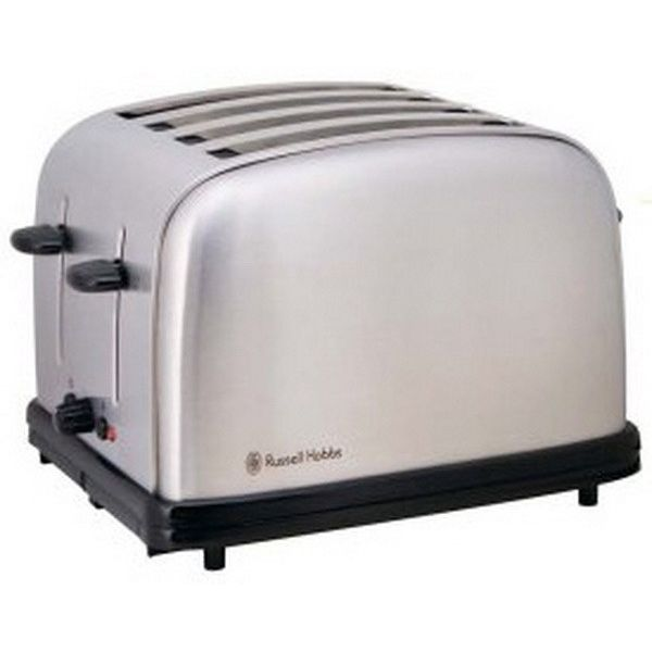russell hobbs classic 4 slice satin toaster 9476 buy bread toasters. Black Bedroom Furniture Sets. Home Design Ideas
