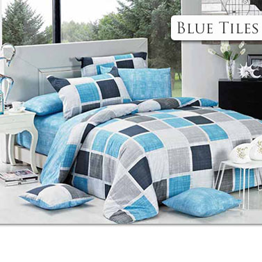 Double doona cover sets with matching pillowcases buy for Matching bedroom and bathroom sets