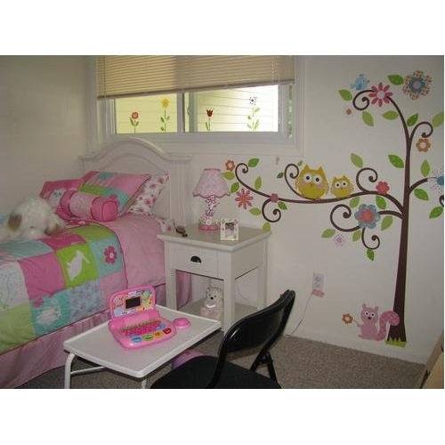 scroll tree kids bedroom wall sticker buy baby amp kids roommates happy scroll tree peel and stick giant wall
