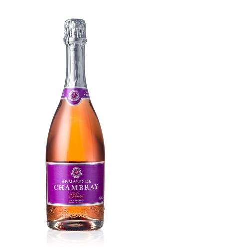 Armand de chambray rose nv french sparkling wine buy more for Cuisine you chambray