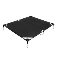 XXL Weatherproof Trampoline Mat Pet Bed in Black
