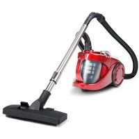 Bagless Cyclone Vacuum Cleaner HEPA Red