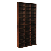 Adjustable DIY Bookshelf Storage Shelving Unit