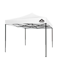 Pop-Up White Outdoor Garden Gazebo