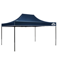3M X 4.5M Pop-Up Garden Outdoor Gazebo Navy