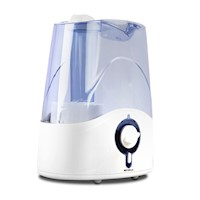 Ultrasonic Cool Mist Air Humidifier 4.5L White Blue
