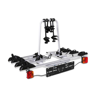 Bicycle Bike Carrier Rack with Tow Ball Mount Black