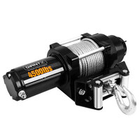 Electric 4500lbs Winch ATV 4WD Steel Wire & Remote