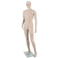 Full Body Male Mannequin 186cm Skin Tone