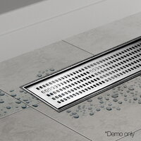 Square Stainless Steel Shower Grate 1000mm