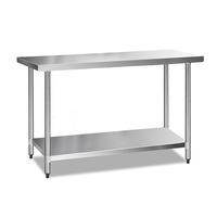 Stainless Steel Kitchen Work Bench Table 1524mm