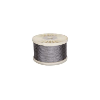 7x7 Marine Stainless Steel Wire Rope Braided 305m